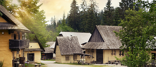 Museum of Orava village in Zuberec