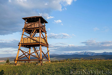 Sightseeing tower over Tvrdosin