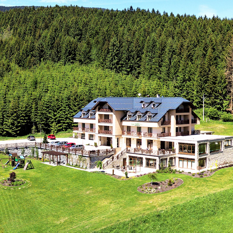 Hotel in the heart of nature