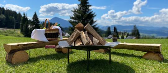 Piknik pod holým nebom